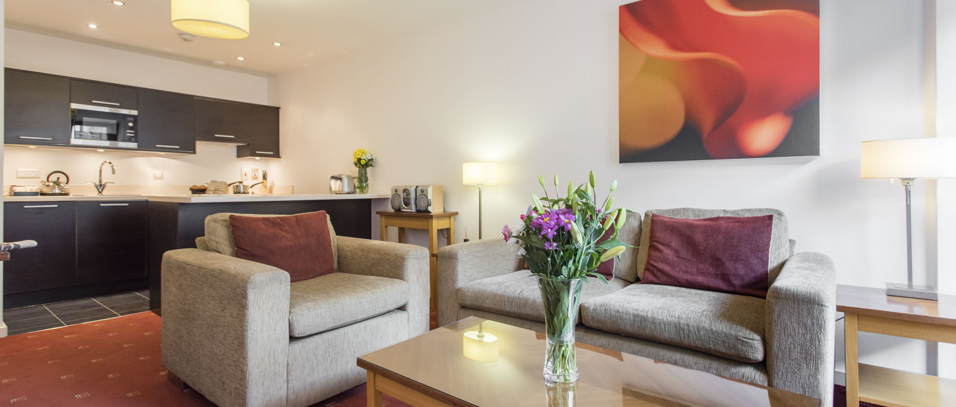 Serviced apartments machester premier suites manchester for Living room manchester